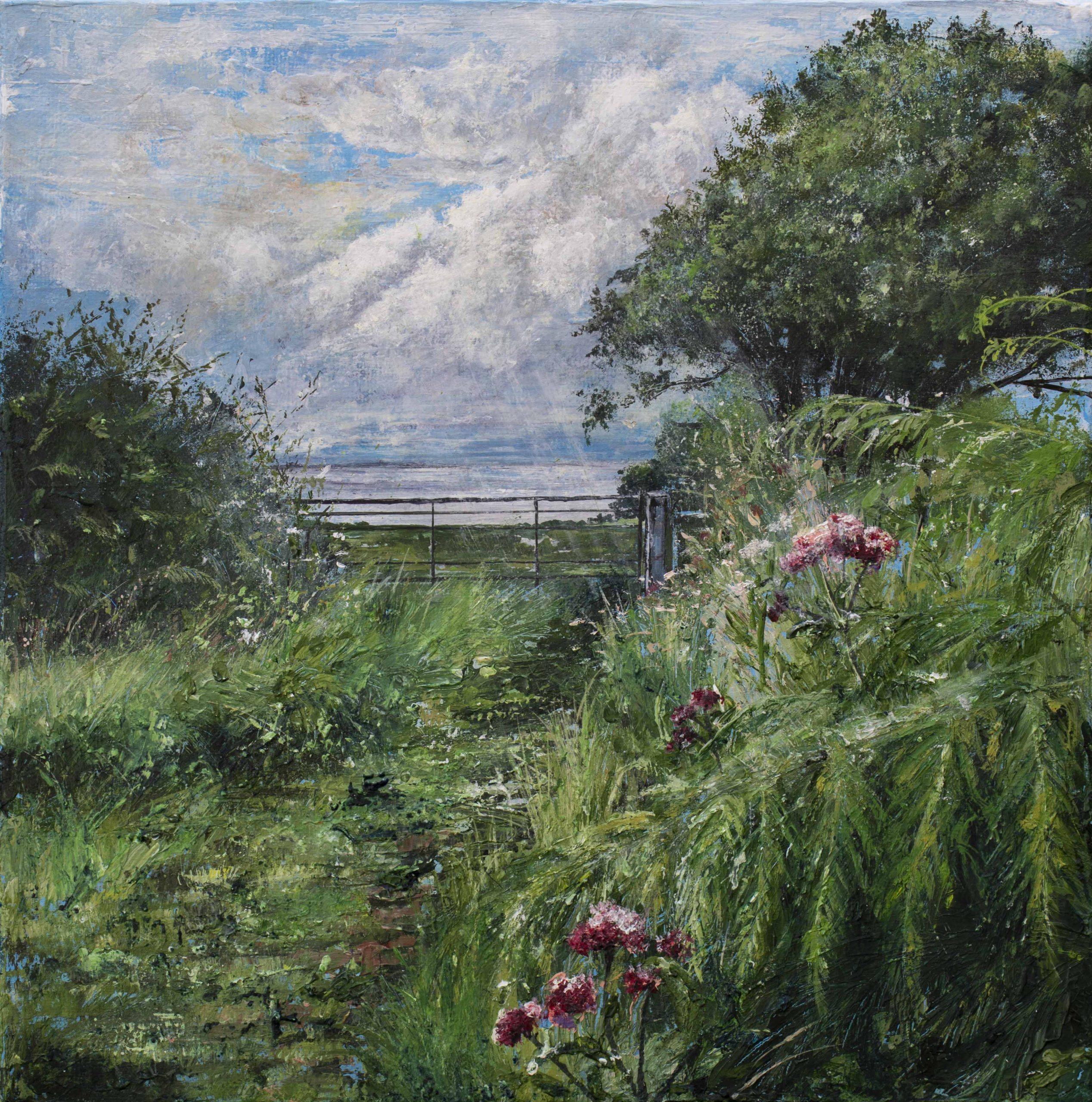 Meadows to the River Severn by Holly Dunham